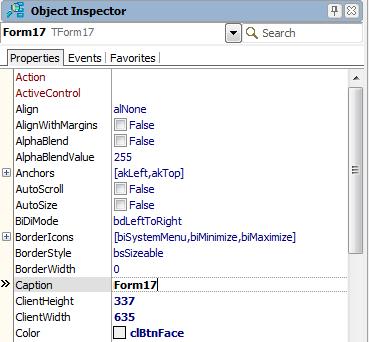 Продвинутый Object Inspector