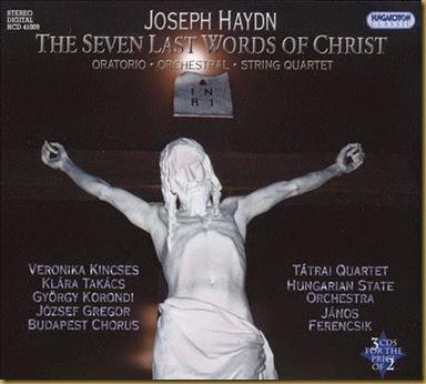 Ferencsik Haydn Siete Palabras
