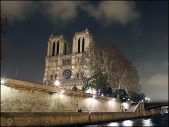 A igreja de Notre Dame
