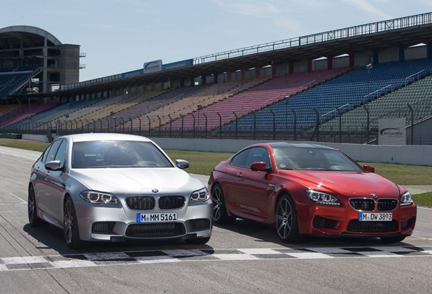 2014 BMW M5 and M6 with Competition Package