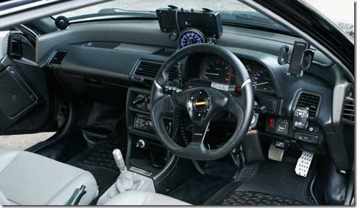 Modification Honda Civic Nouva 1991 interior