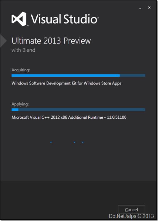 VisualStudio2013InstallationStep3
