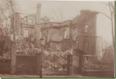 Heumann house after bombing