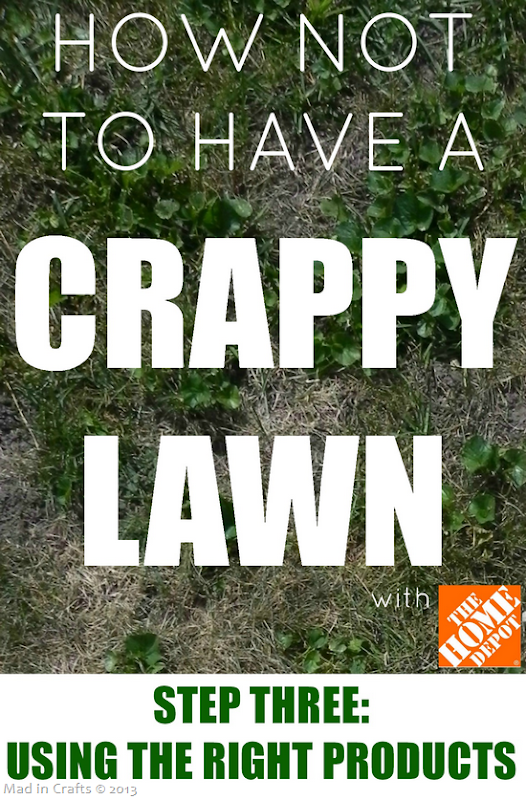 How Not to Have a Crappy Lawn STEP 3