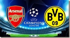 arsenal vs Dortmund