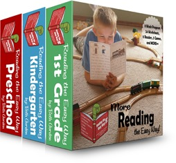 Reading the Easy Way - Preschool, Kindergarten, 1st Grade
