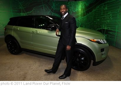 'Darrelle Revis New York Jets Cornerback with the Range Rover Evoque ' photo (c) 2011, Land Rover Our Planet - license: http://creativecommons.org/licenses/by-nd/2.0/