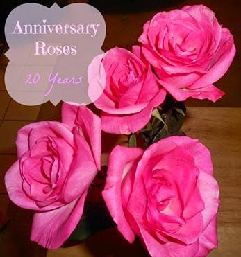 Anniversary Roses ~ 20 Years