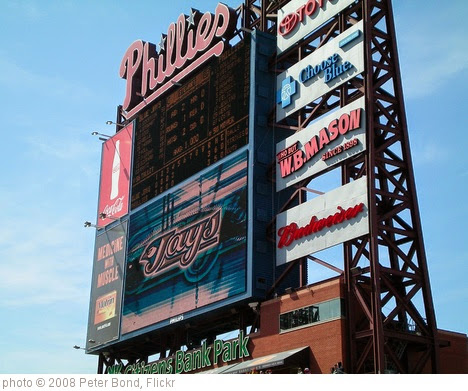 'Citizens Bank Park' photo (c) 2008, Peter Bond - license: https://creativecommons.org/licenses/by-sa/2.0/