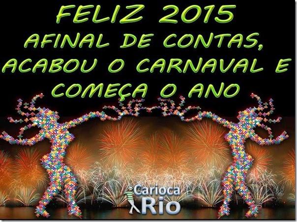 feliz 2015 pos carnaval