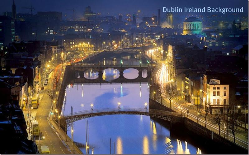 Dublin Ireland Background