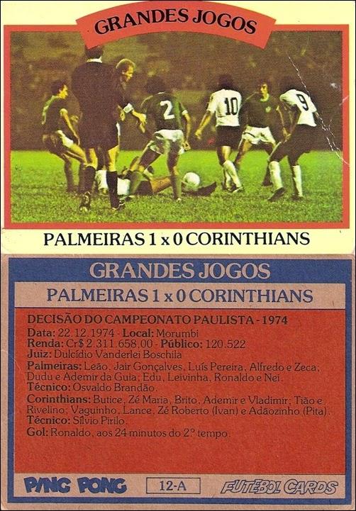 12-A - Palmeiras 1x0 Corinthians