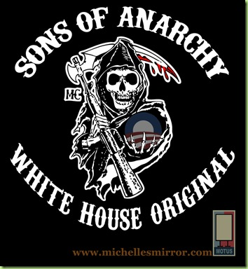 Sons of Anarchy White house copy