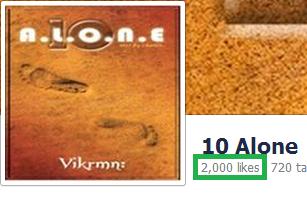 10 Alone - by Vikrmn - 2000 Likes - CA Vikram Verma
