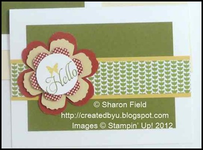 Cheerful Treat DSP, Blossom Builders, and colorful bright card stock