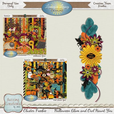 Leaving a Legacy Designs - HG and OHY - Cluster Freebie 1 Preview