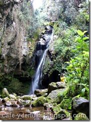 cascada el lintruso, parque Nacional Bogotá