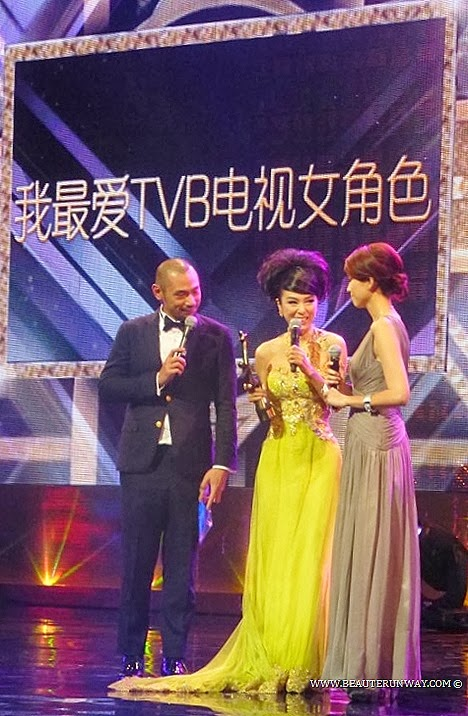 Starhub TVB Awards 2013 Michelle Yim The Confidant winner My Favourite TVB Female Characters Hong Kong Celebrities In Singapore Marina Bay Sands Bosco Wong, Tavia Yeung, Raymond Lam, Kate Tsui, Linda Chung, Kenneth Ma Myolie Wu