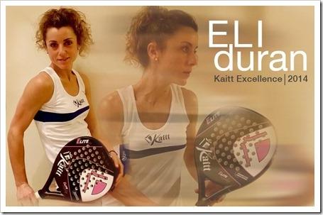 "La jugadora Elisabet ""Eli"" Durán presentada como jugadora Kaitt para este 2014 ."