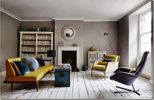 case e interni - casa stile inglese - moderno - chic (2)