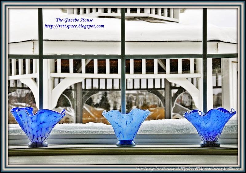 OSU  cake, pancakes & snow in arch window 002.jpg dbl frame