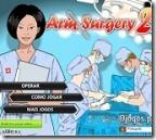 Jogos de médico ~ Operação no braço