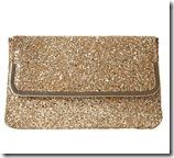 Dune Gold Glitter Clutch