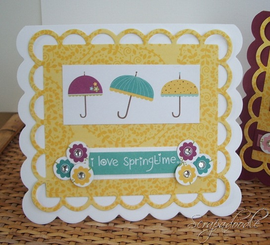 Bella Blvd Spring Fling and Easter Things, Lifestyle Crafts Cutting Dies, Clear Gems, Scrapadoodle, Carla's Scraps (2)