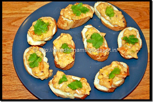 Corn Bruschetta - IMG_2848