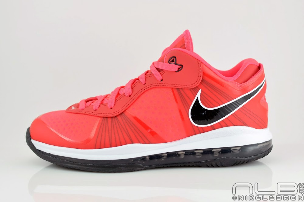 lebron 8 low red - photo #6
