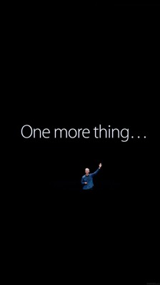 One more thing iphone6 wallpaper