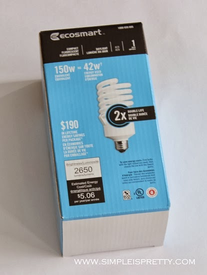 Light bulb 150w