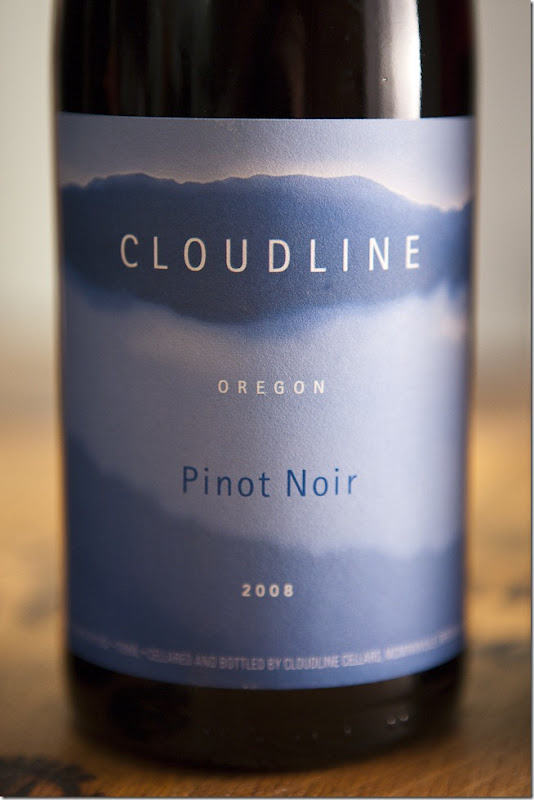 2008 Cloudline Oregon Pinot Noir