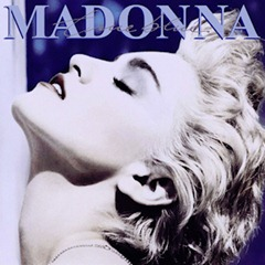 album cover for Madonna's True Blue