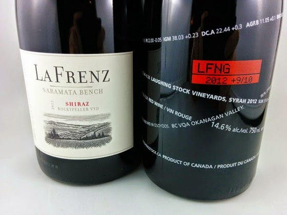 La Frenz Shiraz 2012 & Laughing Stock Syrah 2012