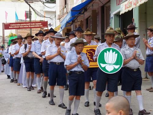 Tang lễ Cố HT Nguyễn Để: Lễ di quan & hỏa táng