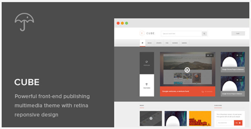 multi media publishing theme