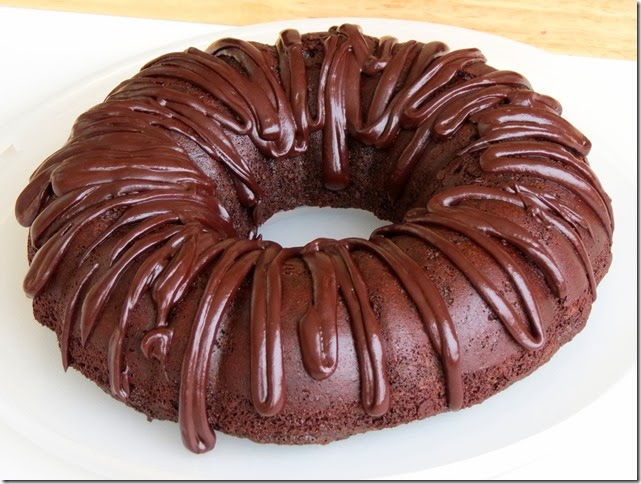Grain Free Refined Sugar Free Chocolate Bundt Cake 3