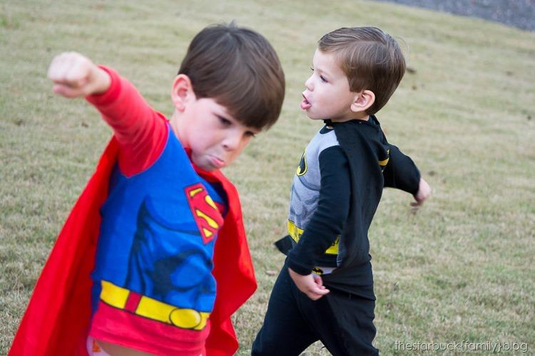 Superman and Batman Halloween blog-2