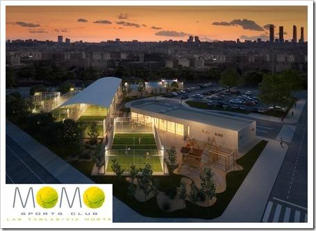 MOMO Sports Club anuncia la apertura de un nuevo club de pádel en el madrileño barrio de Las Tablas a principios de 2014.