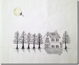 月と魔女と洋館
