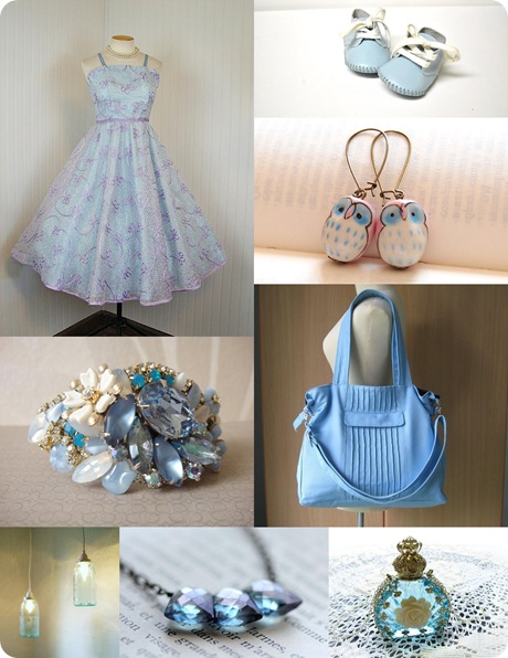 baby blue inspiration board
