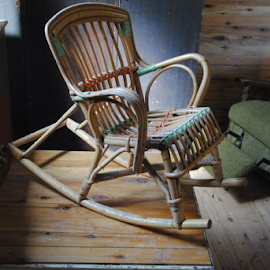 CANE CHAIR by James Menteith - Artistic Objects Furniture ( artistic, cane chair, furniture, photography )