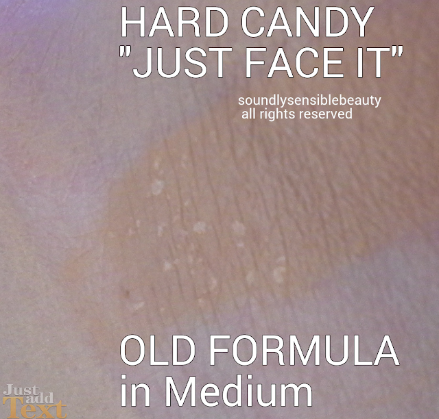 Hard Candy Just Face it Foundation Old Formula