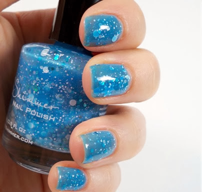 kbshimmer snow much fun swatch