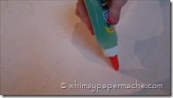 glue outline