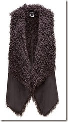 Unreal Fur Reversible Faux Fur Gilet