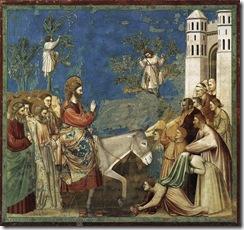 Jesus entra em Jerusalem