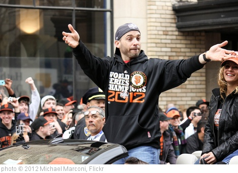 'NLCS MVP Marco Scutaro' photo (c) 2012, Michael Marconi - license: http://creativecommons.org/licenses/by/2.0/