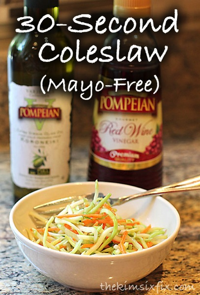 30 second coleslaw
